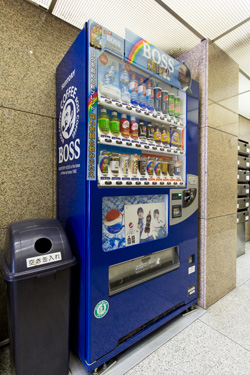 災害時の備蓄にもなるエコ自販機をタダで設置するとLEDがタダで貰えます